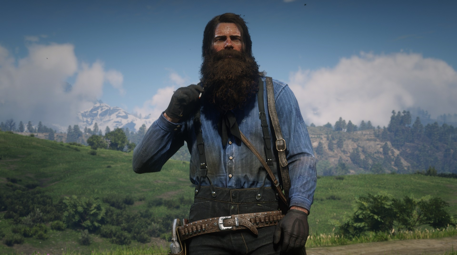 Arthur with level 10 beard in Chapter 2 : reddeadfashion